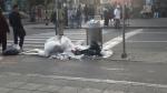 Las calles vueltas basurero