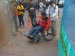 El espacio publico limita a la poblacion discapacitada