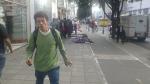 Ventas ambulantes en medio de ciclorutas