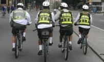 Policías en Bicicleta