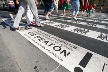 Campaña por el respeto al peatón 2008-Murcia, España