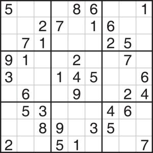 Esto es un Sudoku