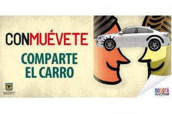 CONMUÉVETE: Comparte el Carro