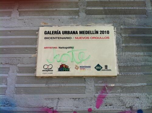 Galería Urbana Medellín 2010-Nuevos Orgullos