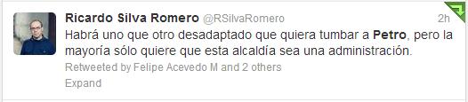 Ricardo Silva-Twitter