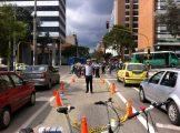 Nuestro director para el manejo del tráfico...Juan Manuel Prado