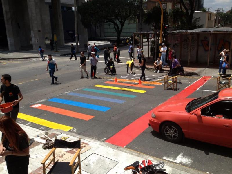 Crosswalks for Life for Pedestrian Safety