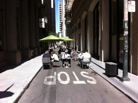 Una calles de San Francisco