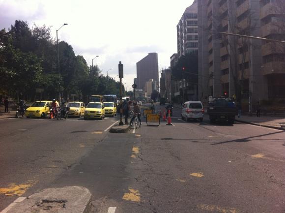 Día sin Carro Bogota, Febrero 6 de 2013
